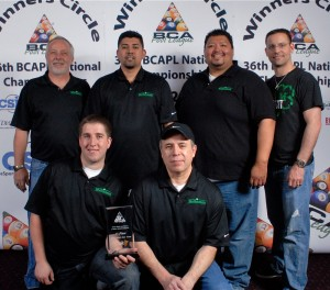 'Team McDermott' 2012 BCAPL National Champs