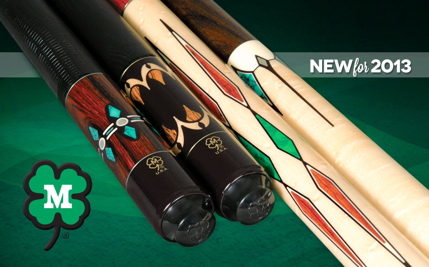 New Pool Cues for 2013