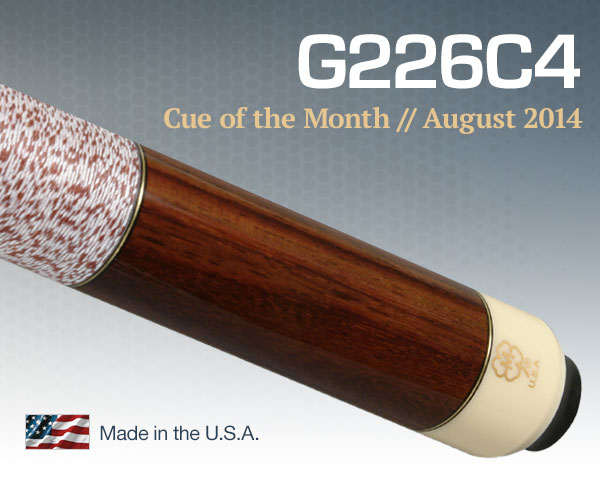 Free Pool Cue of the Month Giveaway