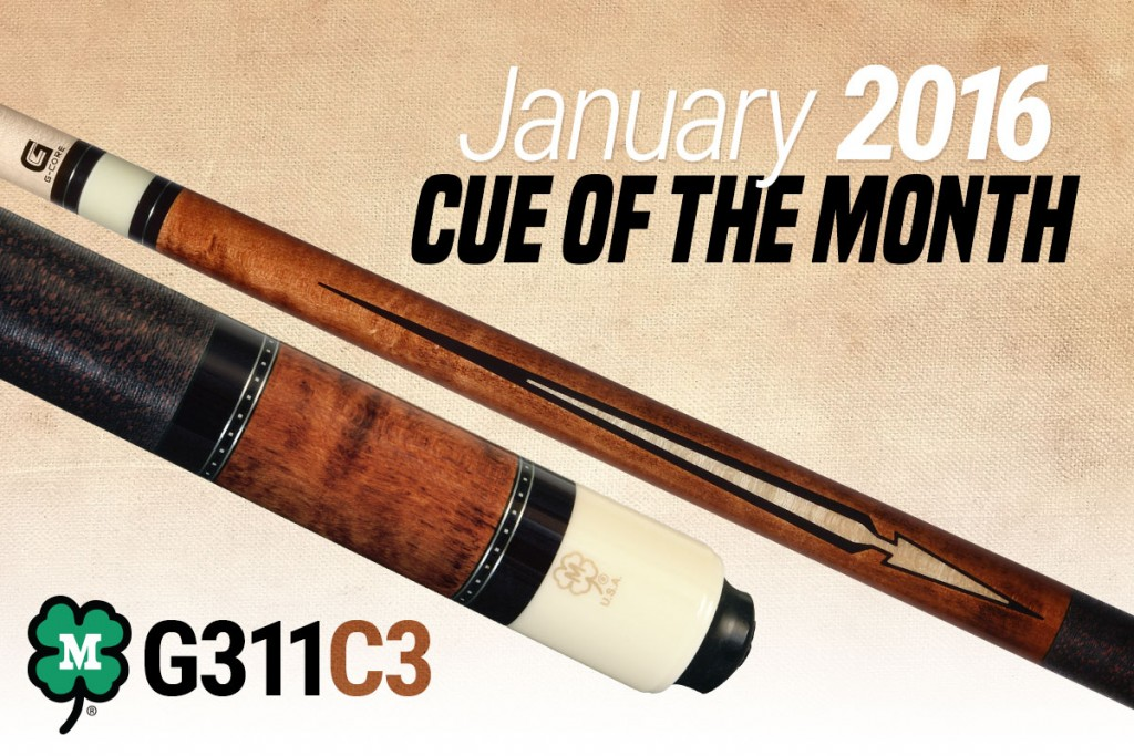 January 2016 Cue of the Month