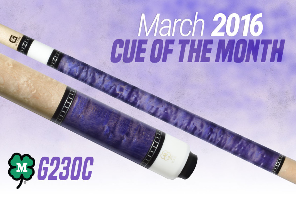 G230C // March 2016 Cue of the Month