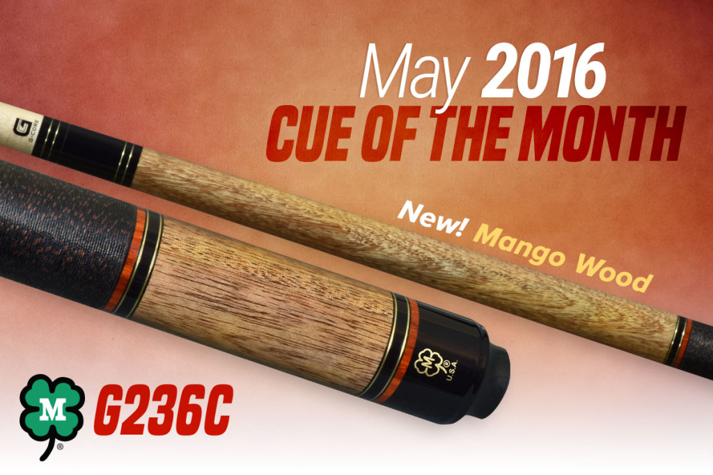 May 2016 Cue of the Month