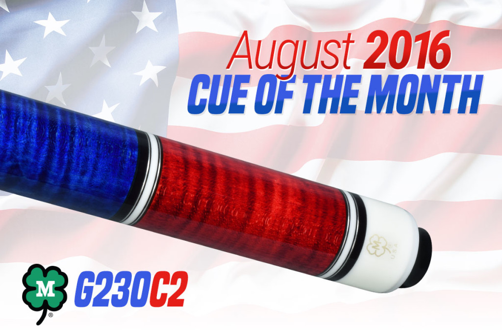 G230C2 // August 2016 Cue of the Month