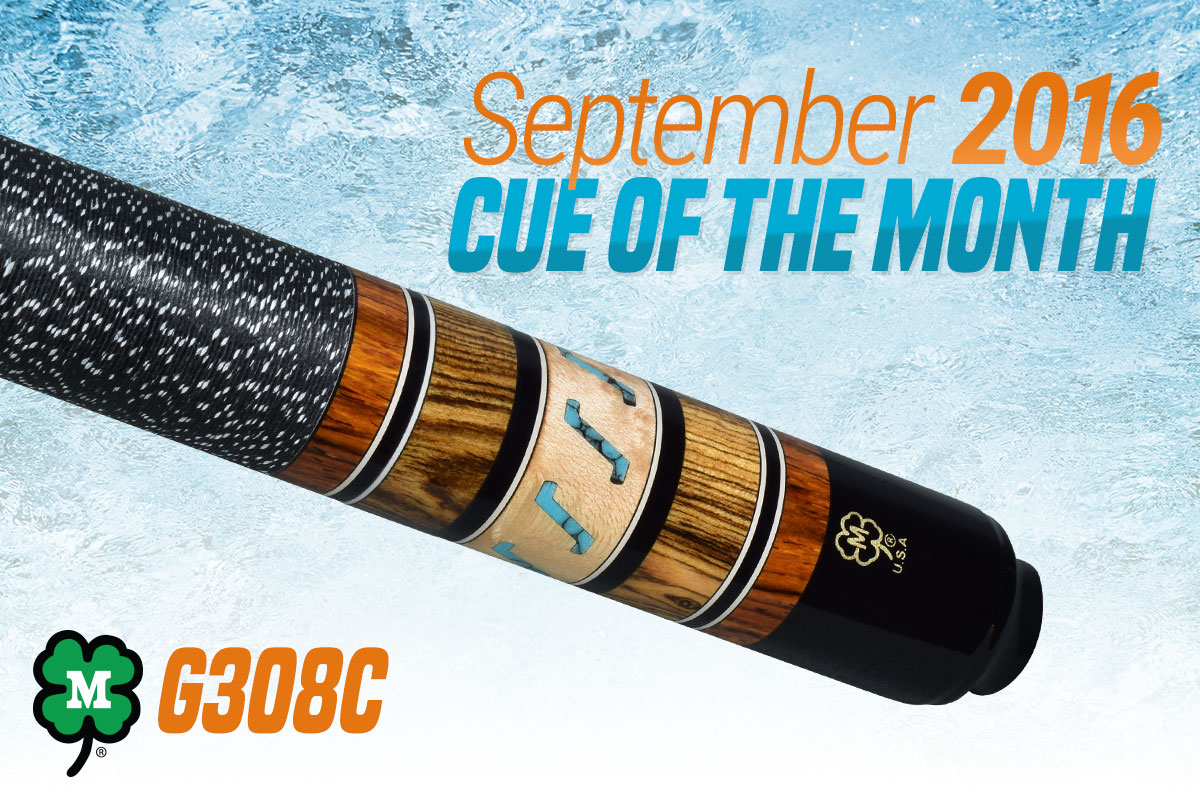 September 2016 Custom Cue of the Month