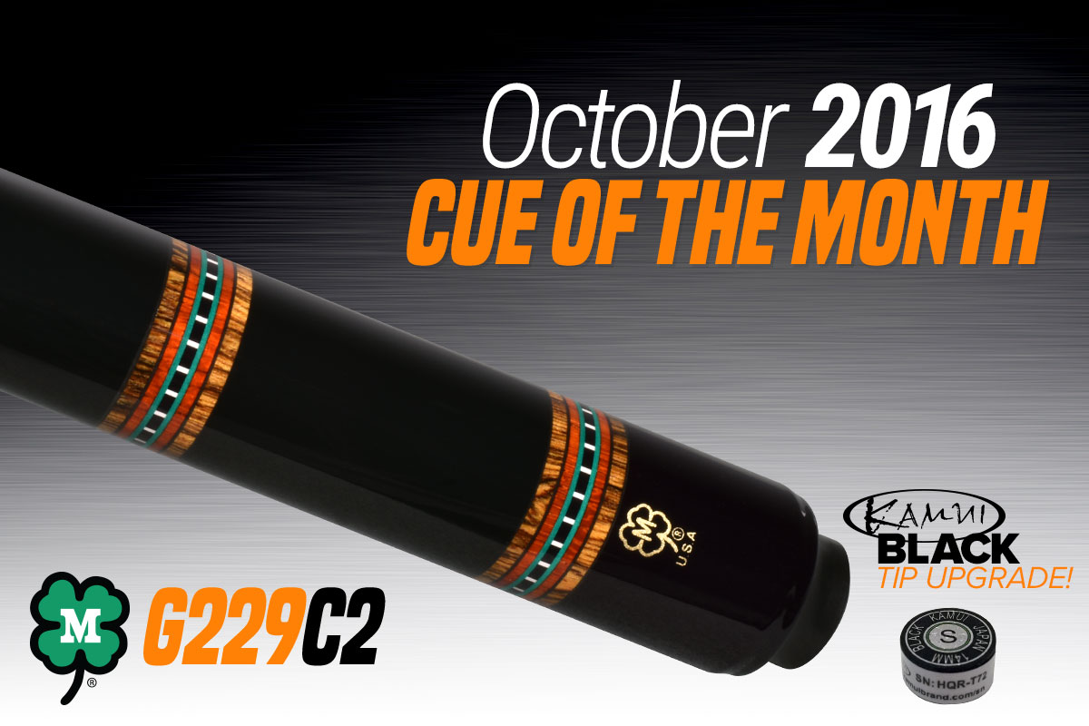 G229C2 // October 2016 Cue of the Month