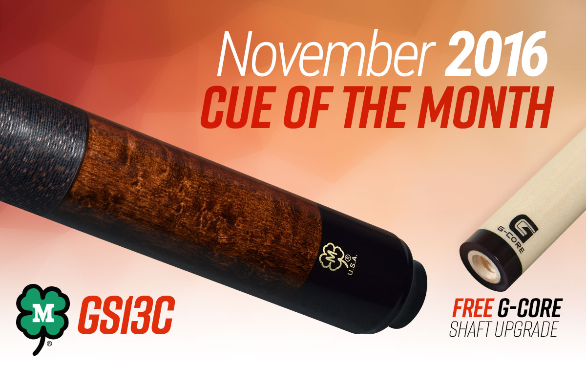 GS13C - November 2016 Cue of the Month