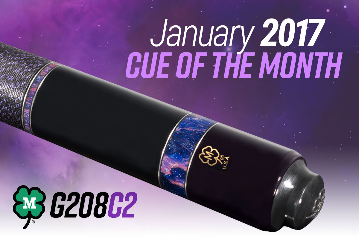 G208C2 // January 2017 Cue of the Month