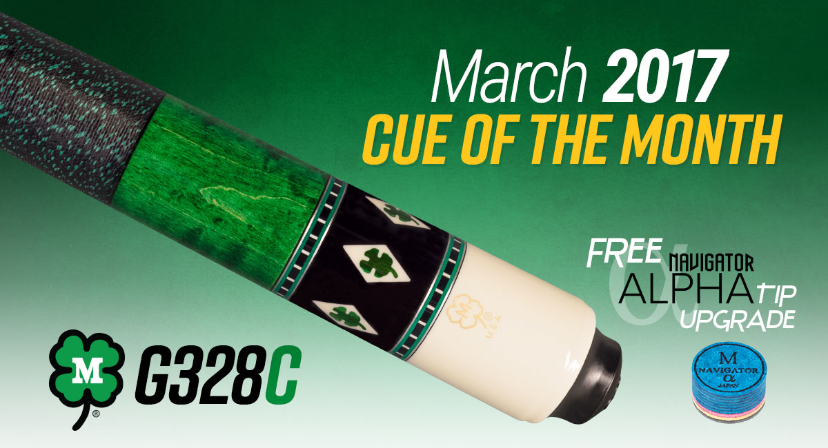 G308C // March 2017 Cue of the Month