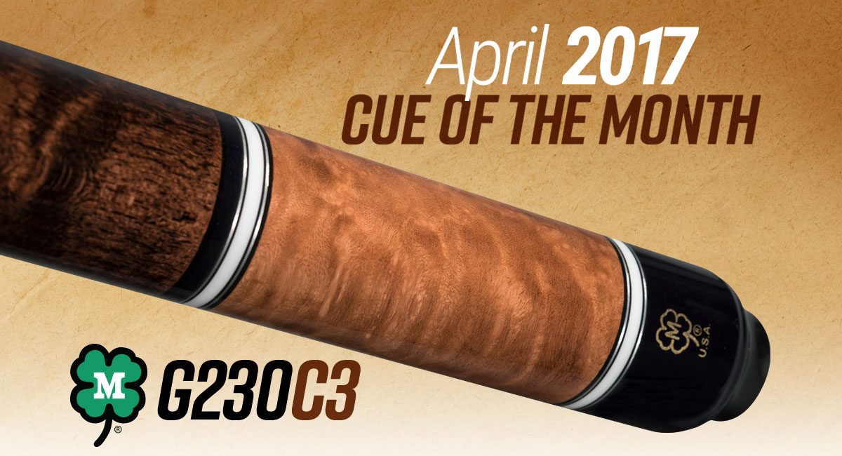 G230C3 - April 2017 Cue of the Month