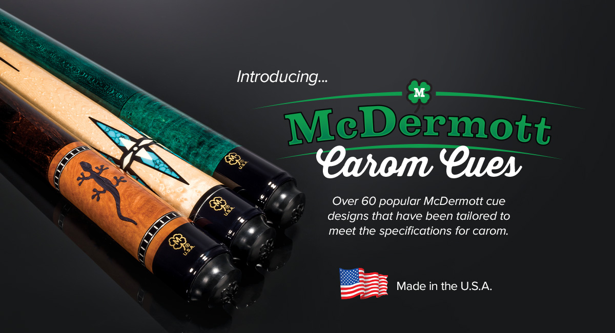 McDermott Carom Cues