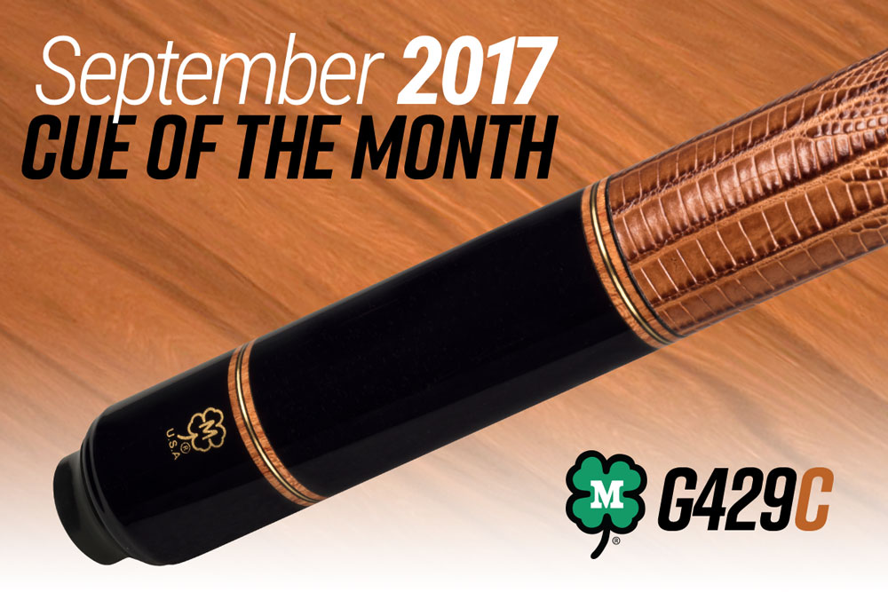 G429C // September 2017 Cue of the Month