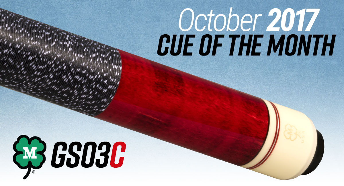 GS03C // October Cue of the Month