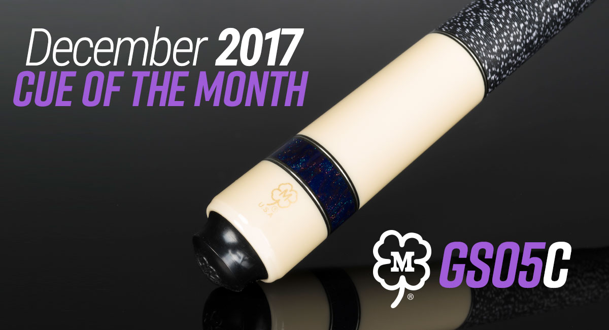 GS05C December 2017 Cue of the Month