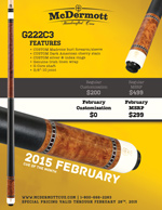 February Cue of the Month