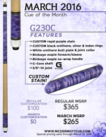 March Cue of the Month