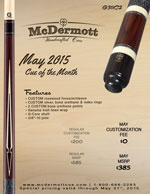 May Cue of the Month