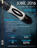 June Cue of the Month