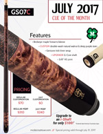 July Cue of the Month