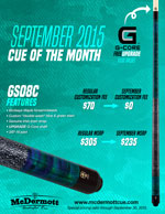 September Cue of the Month