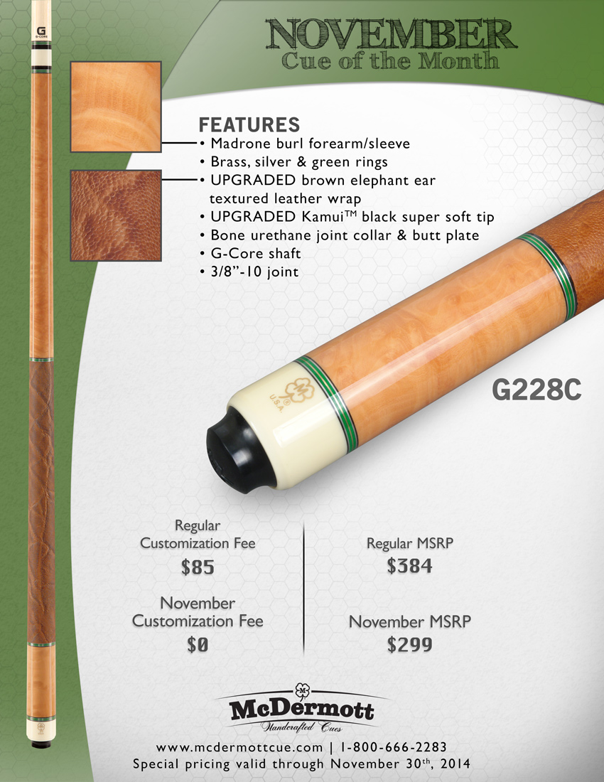 November Cue of the Month