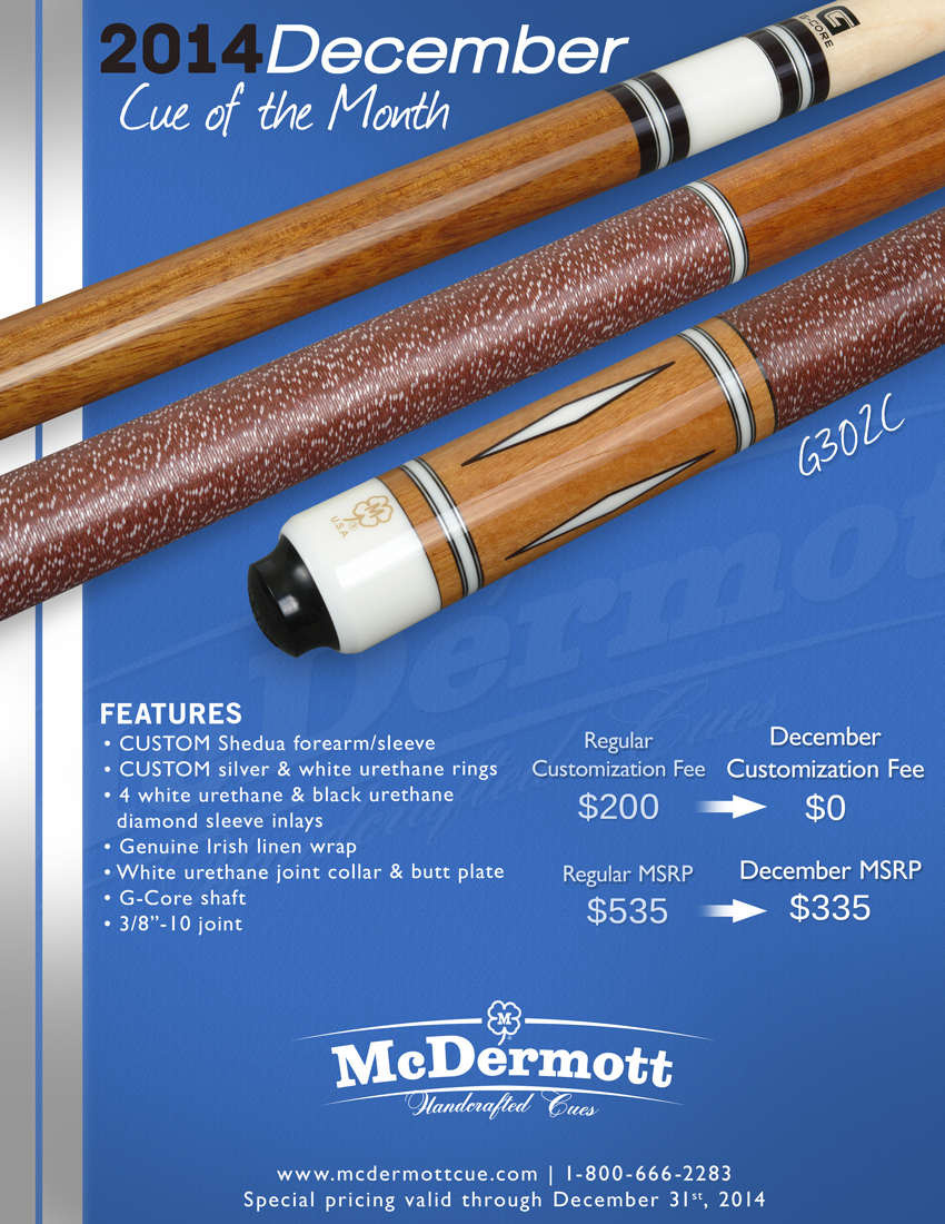 December Cue of the Month