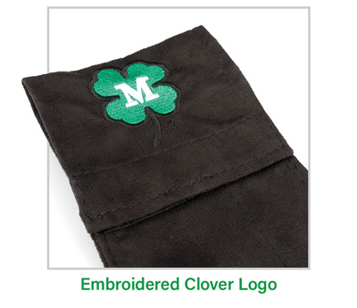 Embroidered Clover Logo