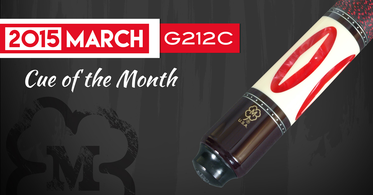 G212C Custom Cue of the Month