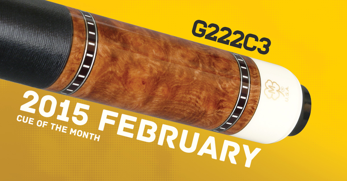 G222C3 Custom Cue of the Month
