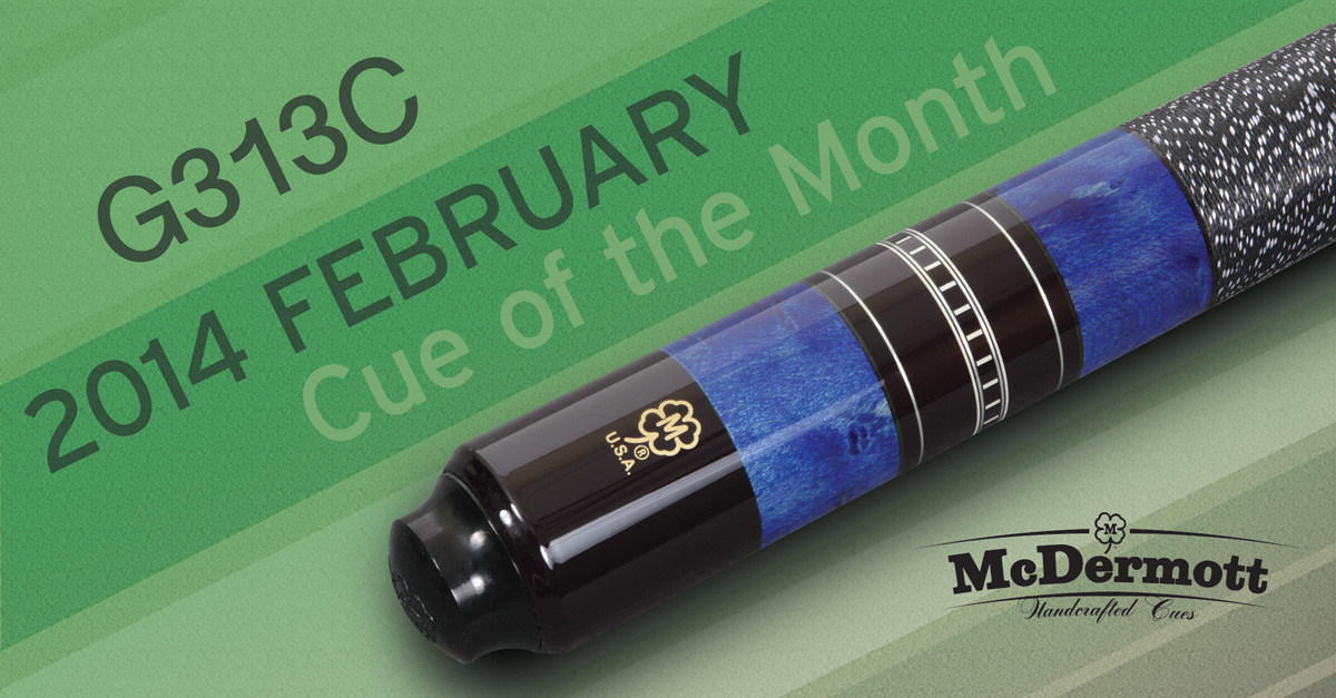 G226C3 Custom Cue of the Month