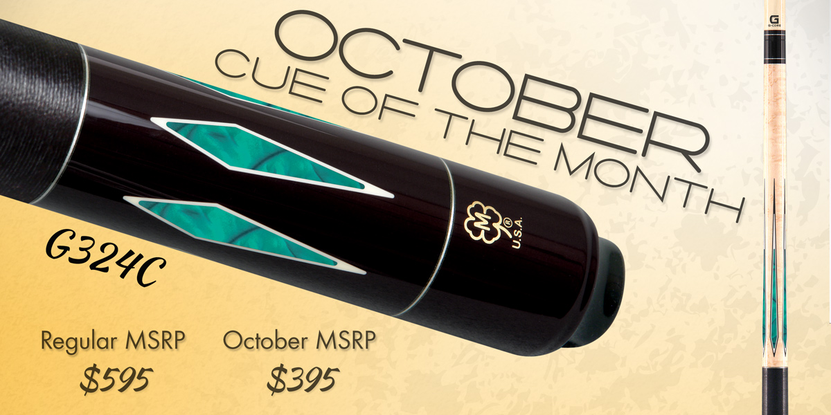G324C Custom Cue of the Month