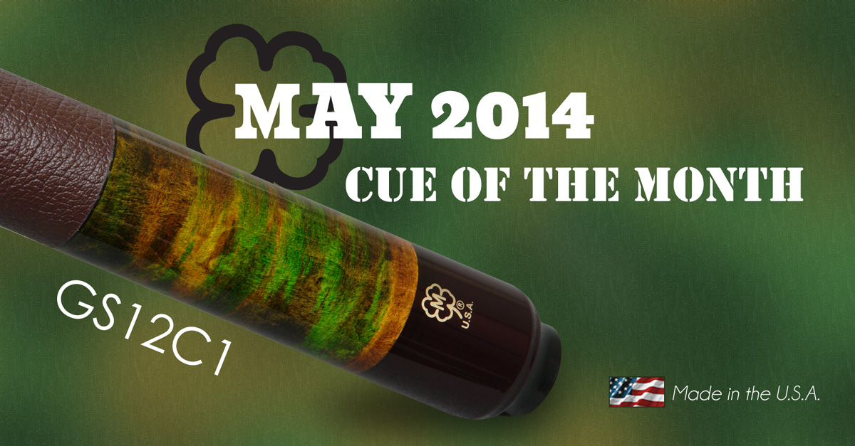 GS12C1 Custom Cue of the Month