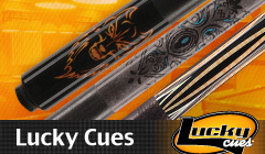 Lucky Inexpensive, but High-Quality Pool Cues