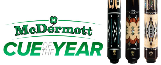 Jim McDermott Cue of the Year | American Pool Cues