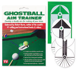 Ghostball Billiard Practice Aim Trainer