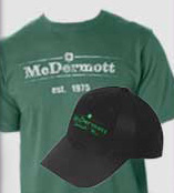 McDermott Clothing, Apparel, T-Shirts
