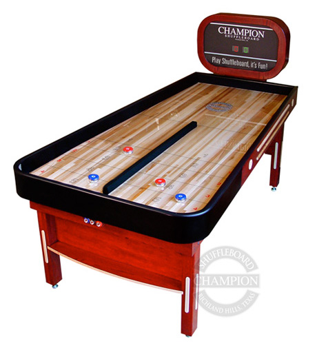 Champion Bankshot Shuffleboard Table Milwaukee