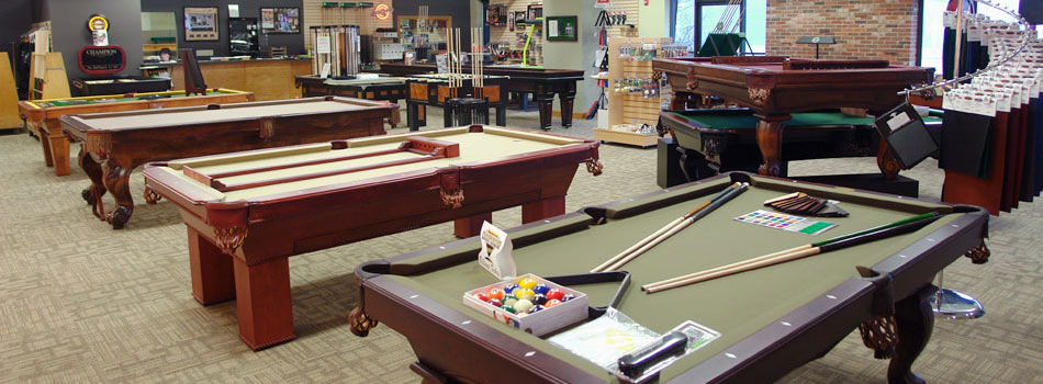 Pool Tables, Shuffleboard, Foosball, Air Hockey Milwaukee