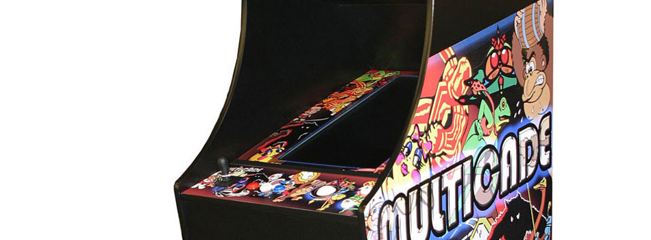 Classic Arcade Game Machine Cabinet