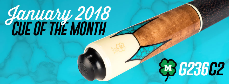 January 2018 Cue of the Month