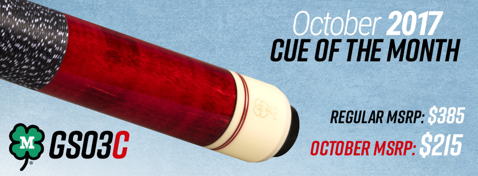 October Cue of the Month