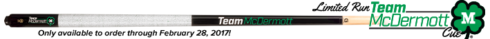 Limited Run Team McDermott cues!