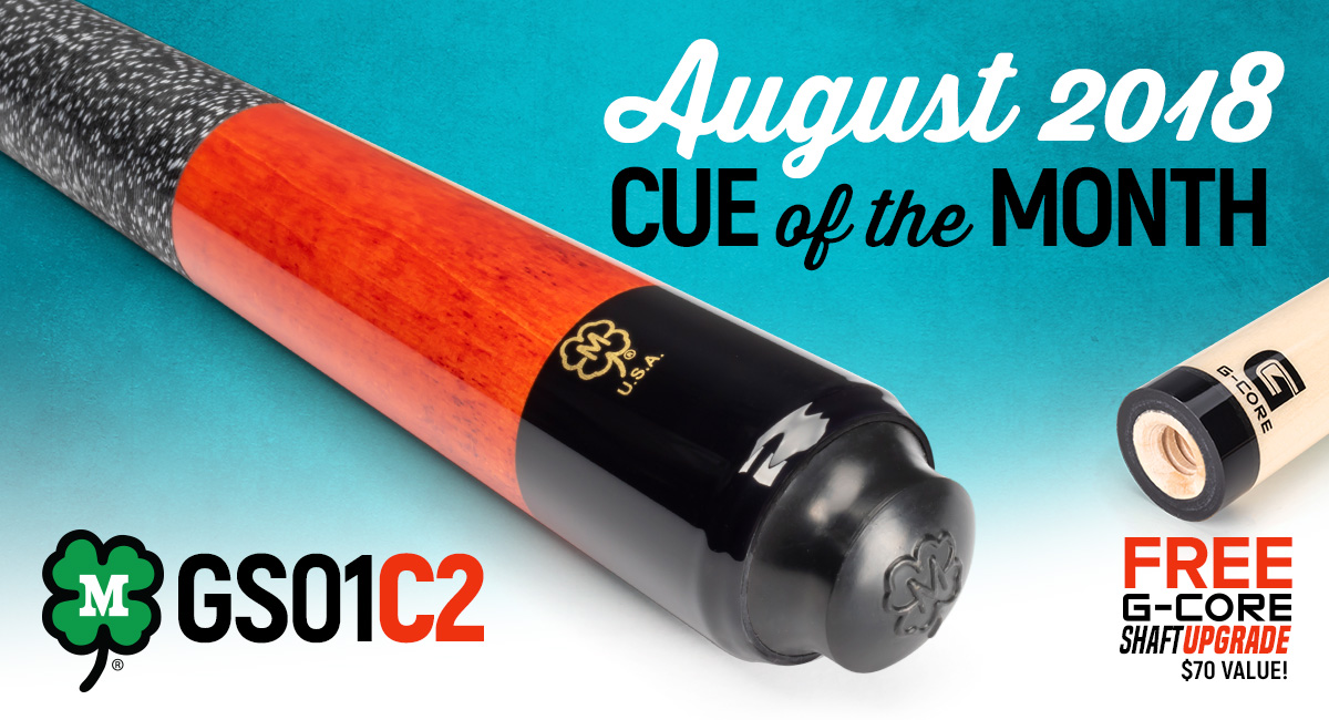 GS01C2 August 2018 Cue of the Month