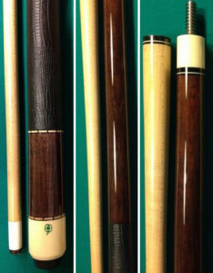 D-03 cue with grey stain